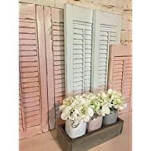 Vintage shutters, Handcrafted Shutters, Farmhouse Shutters