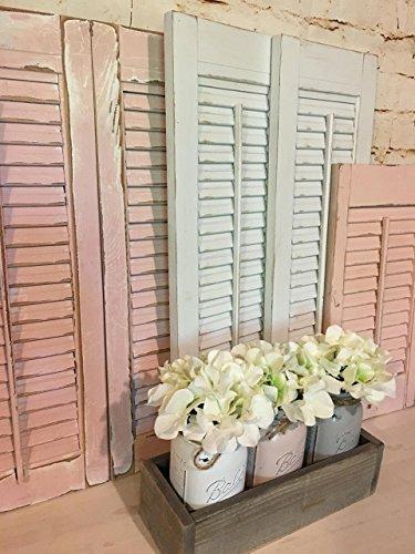 Vintage shutters, Handcrafted Shutters, Farmhouse Shutters