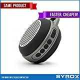 Bluetooth Speaker - Black Portable Keychain Chargable SD Card AUX FM Radio Microphone Apple Iphone 4/5/6/7/8/X Samsung Galaxy Sony Xperia Xiaomi Asus LG G4 G5 G6 Nokia HTC BlackBerry Motorola Huawei