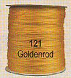 #121 Goldenrod Chainette Shawl Fringe - 1800 ft Spool
