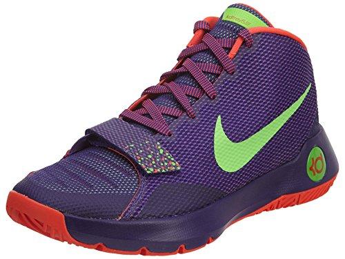 NIKE KD Trey III Mens hi top Basketball Trainers 749377 Sneakers Shoes (UK  7.5 US 8.5 EU 42, Court Purple Green Streak Bright Crimson 536)