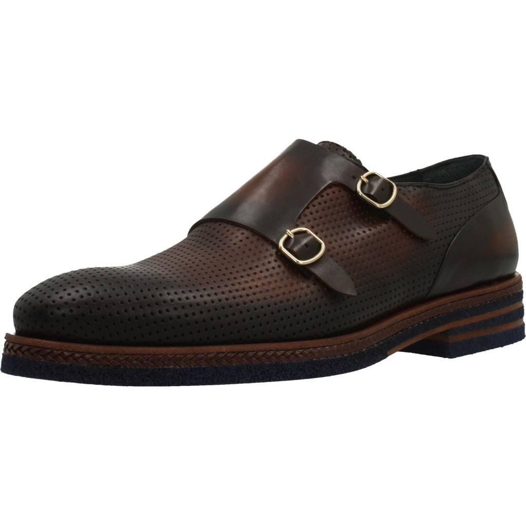 TALLA 43 EU. Zapatos de Cordones para Hombre, Color marrón, Marca ANGEL INFANTES, Modelo Zapatos De Cordones para Hombre ANGEL INFANTES 29033A Marrón