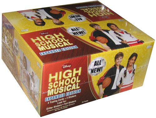 High School Musical 2 Expanded Edition Trading Cards (24 - Cards Elite Sports
