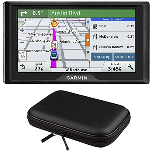 Garmin Drive 60LM GPS Navigator (US) – 010-01533-0C Case Bundle with PocketPro XL Hardshell Case