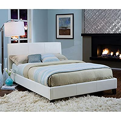 Standard Furniture New York Upholstered Bed in White - King