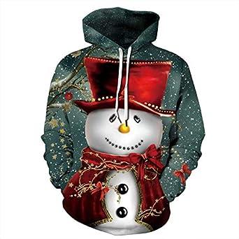 LaiYuTing Conjunto de Ropa de Navidad para Mujer, suéter con ...
