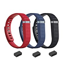 EverAct™ 3D Replacement Bands for Fitbit Flex - 3 pack