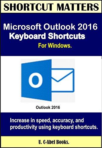 working offline outlook 2016 shortcut