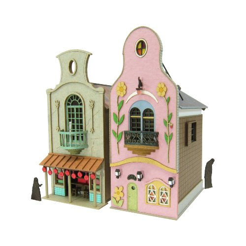 [Miniatuart] Limited Edition `Spirited Away` Strange Town 3 (Unassembled Kit) 1/150 by - East Town Hours