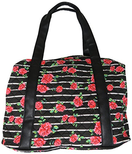 Luv Betsey Women's Playyr Quilted Weekender Rose Luggage by Luv Betsey (Image #3)