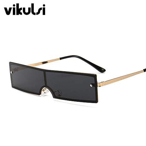 Yangjing-hl Gafas de Sol rectangulares de Tendencia Gafas de ...
