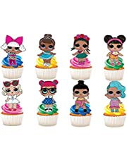 30 x LOL Poppen Karakters Party Stand UP Eetbare Papier Cupcake Toppers Cake Decoraties