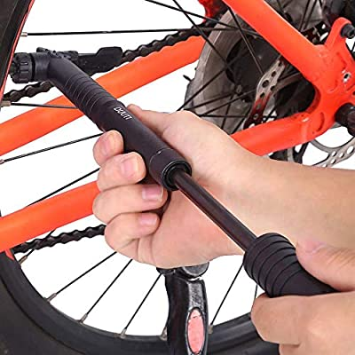 NuanNuan 2 Piezas Bomba de Aire de Pie para Bicicleta,120psi ...