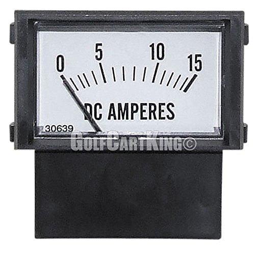 (Club Car Golf Cart | Ammeter (15 Amp) 48 Volt | Power Drive 1,2,3)
