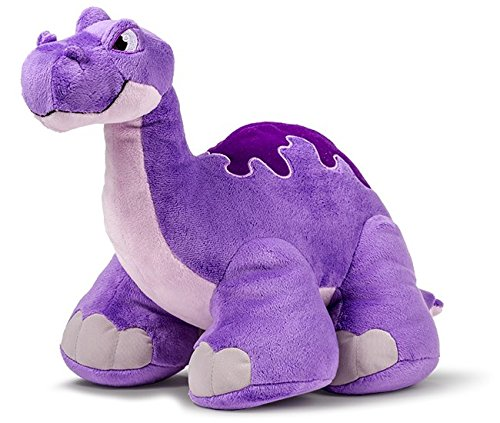 Thunder Stompers: Mash the Brontosaurus Plush Stuffed Toy Dinosaur with Sound - 12 Inches (Thunder T-rex)