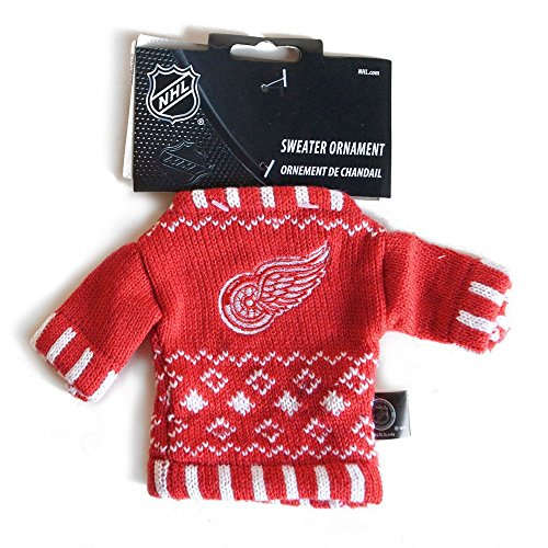 NHL Knit Sweater Ornament - Atlanta Thrashers  NHL Team: Detroit Red Wings Atlanta Thrashers Hockey Team