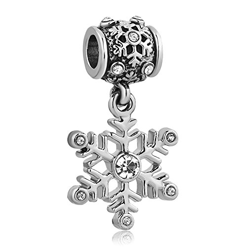 CharmsStory Snowflake Birthstone Crystal Bracelets