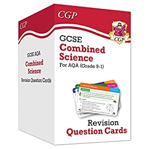New 9-1 GCSE Combined Science AQA Revision Question Cards: All-in-one Biology, Chemistry & Physics (CGP GCSE Combined Science 9-1 Revision)Paperback – 6 Dec. 2019