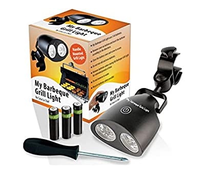 My Barbeque Grill Light LED Lights Adjustable Handle-Mount Touch Sensor Switch and Accessories