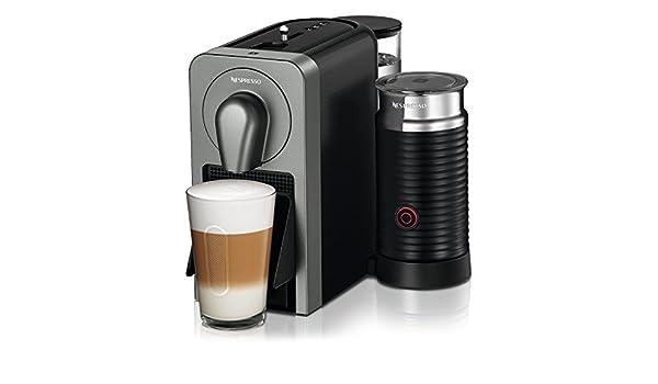 NESPRESSO C75-nosotros-Ti-Ne Prodigio con leche de cafetera, Titan: Amazon.es: Bricolaje y herramientas