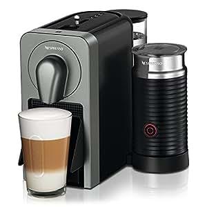 Nespresso C75-US-TI-NE Prodigio With Milk Espresso Maker, Titan