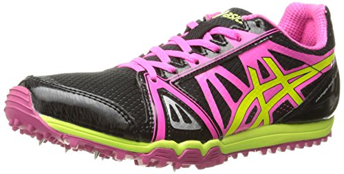 Asics Women's Hyper Rocketgirl XC Spike Shoe - Black/Hot ...