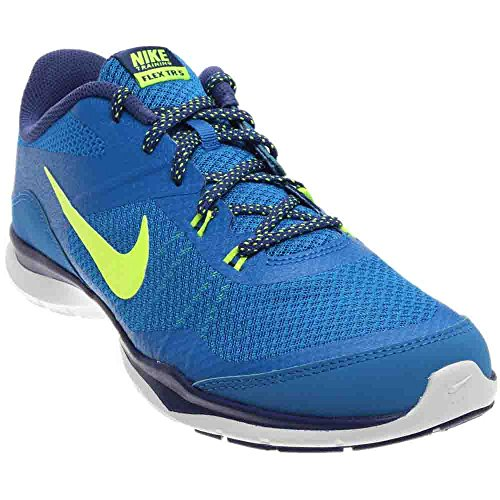 Nike Womens Flex Trainer 5 Soar/Volt/Dp Royal/Blue/White Training Shoe 7 Women US