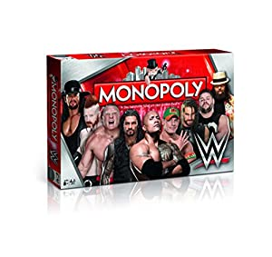 Winning Moves 44314 Monopoly: WWE Wrestling