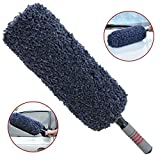 TAKAVU Car Duster - Quick & Easy Removes Dust and Pollen - Reach