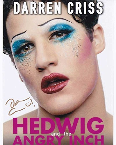 Darren Criss in-person autographed photo Hedwig and the Angry Inch (Hedwig And The Angry Inch Darren Criss)