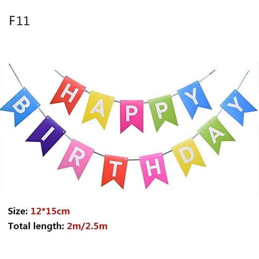 Uofr Varios Temas Banner de Feliz cumpleaños Baby Shower ...