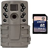 Moultrie A20 12MP Low Glow Infrared Mini Hunting Game Trail Camera + 8GB SD Card