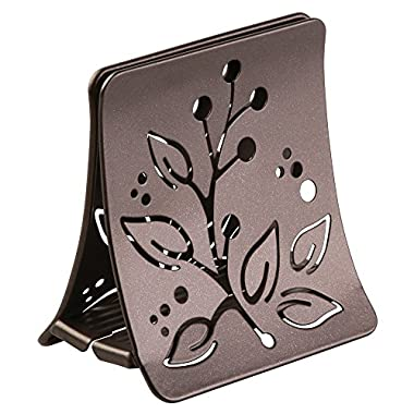 InterDesign Buco Napkin Holder for Kitchen Countertops, Table - Bronze