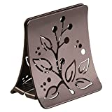 Kitchen Countertop Table InterDesign Buco Napkin Holder for Kitchen Countertops, Table - Bronze