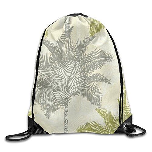 Hibiscus Drawstring Tote Bags - 7