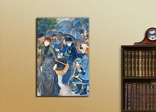 The Umbrellas by Pierre Auguste Renoir Print Famous Oil Painting Reproduction