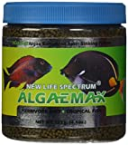 New Life Spectrum AlgaeMAX 1mm Enhanced Algae Pellet Pet Food, 125gm