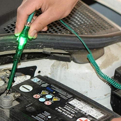 6V 12V 24V Metal Automotive Circuit Tester Low Voltage Electroscope LED Light