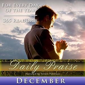 Daily Praise: December Speech