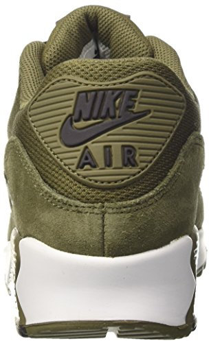 90 Vert Medium de homme Velvet Chaussures Brown NIKE Max Olive Medium running Air Essential Olive 8qxEAwTa