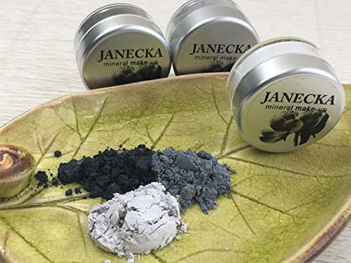 JANECKA Pearl Eye Shadow - Handcrafted - Mineral Make-Up - Gift Set