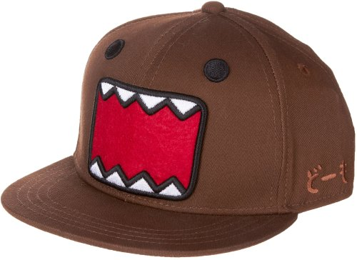 Domo Kun Face Fitted Hat Youth