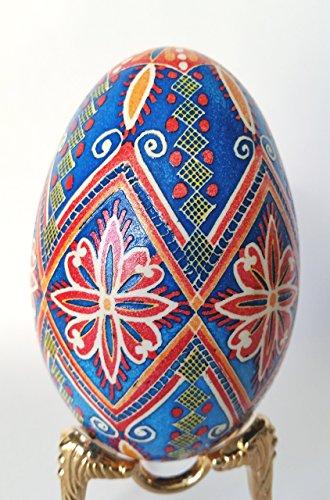 christmas-ornament-on-goose-egg-shell-pysanka-hand-painted-ukrainian-egg-gift-for-mom