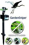 AquaForte GardenSniper Vaporisateur épouvantail répulsif hérons/animaux