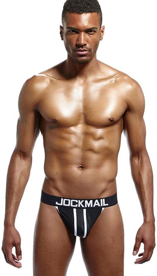 Jockmail Mesh Mens Jockstraps For Gay Men Underwear Sexy Men