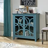 Sauder Shoal Creek Elise Accent Chest in Moody Blue