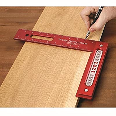 Woodpeckers Precision Woodworking Tools 1281R Precision Woodworking Square by Woodpeckers Precision