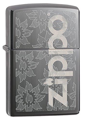 zippo black ice pocket lighter - 7