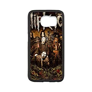 Samsung Galaxy S6 Cell Phone Case White Heavy Metal Band Slipknot Custom Case Cover A11A574595