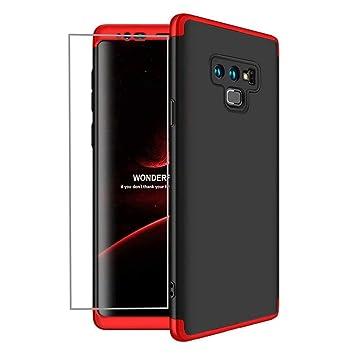 AILZH Funda Samsung Galaxy Note 9 Cubierta de 360 Grados Caja protección de cáscara Dura Anti
